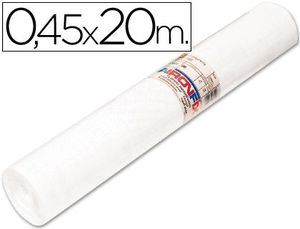 ROLLO ADHESIVO AIRONFIX UNICOLOR BLANCO 67002 -ROLLO DE 20 MT