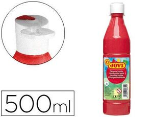 TEMPERA 500 ML ROJO