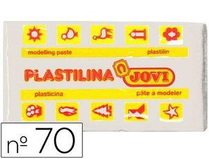PLASTILINA 50 GR BLANCA