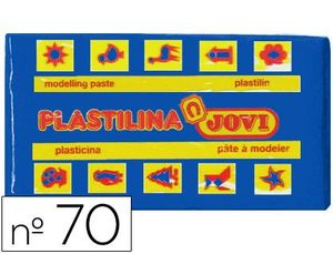 PLASTILINA 50 GR AZUL OSCURO