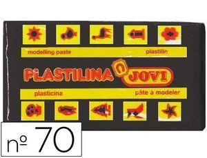 PLASTILINA 50 GR NEGRO