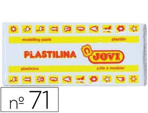 PLASTILINA JOVI 150 GR BLANCA
