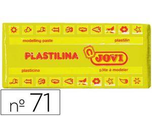 PLASTILINA 150GR AMARILLO OSCURO
