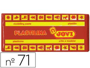 PLASTILINA JOVI 150 GR MARRON
