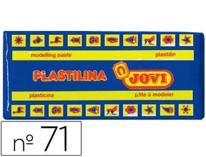 PLASTILINA JOVI 150 GR AZUL OSCURO
