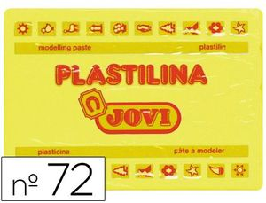 PLASTILINA JOVI 350 GR AMARILLO CLARO