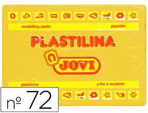 PLASTILINA 350 GR AMARILLO OSCURO