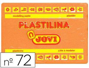 PLASTILINA JOVI 350 GR NARANJA