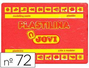 PLASTILINA JOVI 350 GR ROJO