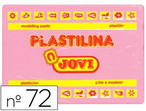 PLASTILINA JOVI 350 GR ROSA