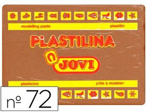 PLASTILINA JOVI 350 GR MARRON