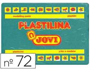 PLASTILINA JOVI 350 GR VERDE OSCURO