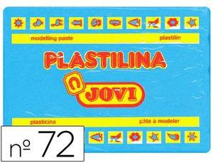 PLASTILINA JOVI 350 GR AZUL CLARO