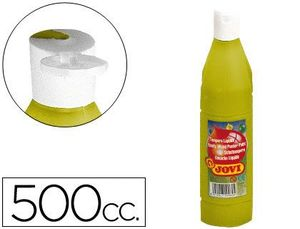 TEMPERA 500 ML ORO METAL