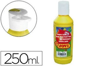 TEMPERA LIQUIDA JOVI ESCOLAR 250 ML AMARILLO