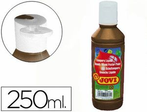 TEMPERA LIQUIDA JOVI ESCOLAR 250 ML MARRON