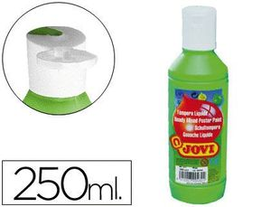 TEMPERA LIQUIDA JOVI ESCOLAR 250 ML VERDE MEDIO