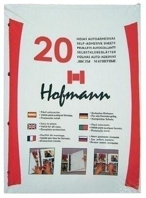 HOJA ALBUM FOTOS HOFMANN NEGRO B-20