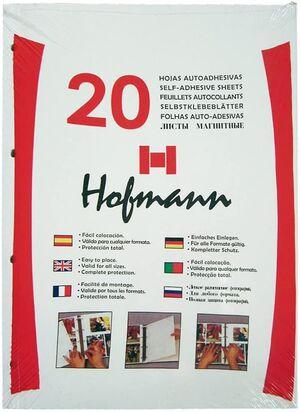 HOJA ALBUM ADHESIVA HOFFMAN BLANCA B-20