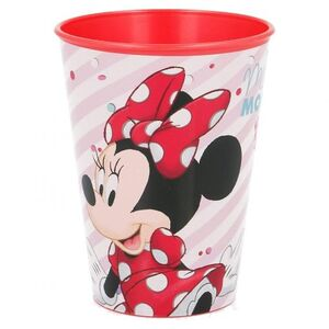 VASO REUTILIZABLE PLASTICO DURO MINNIE DISNEY 260 ML.