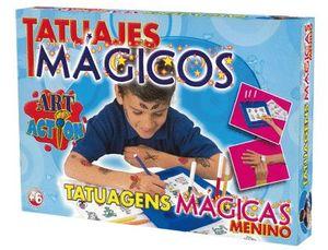 JUEGO DE MESA FALOMIR TATUAJES MAGICOS INFANTIL