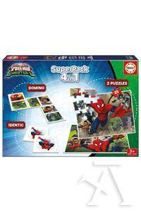 SUPERPACK SPIDERMAN VS SINISTER DOMINO PUZZLES IDENTIC
