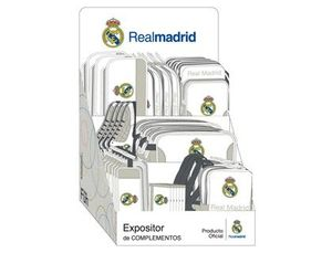 EXPOSITOR COMPLEMENTOS REAL MADRID 1 EQUIPACION 2015-2016 400X450X730 MM