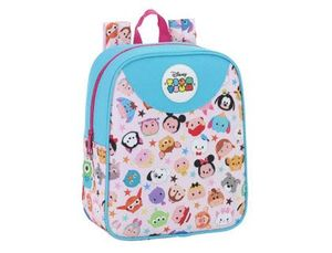 CARTERA ESCOLAR SAFTA TSUM TSUM MOCHILA GUARDERIA ADAPTABLE A CARRO 220X270X100 MM