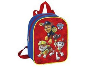 CARTERA ESCOLAR SAFTA PAW PATROL MOCHILA GUARDERIA ADAPTABLE A CARRO 200X100X260 MM