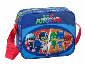 CARTERA ESCOLAR SAFTA PJ MASKS WORLD BANDOLERA GUARDERIA 240X200X80 MM