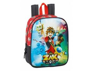 CARTERA ESCOLAR SAFTA ZAK STORM MOCHILA GUARDERIA ADAPTABLE A CARRO 220X270X100 MM
