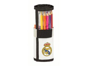 SET REGALO SAFTA STANDARD REAL MADRID 1 EQUIPACION 18/19 70X200 MM