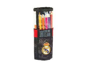 SET REGALO SAFTA STANDARD REAL MADRID BLACK 70X200 MM