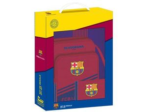 SET REGALO SAFTA PEQUEÑO F.C. BARCELONA CORPORATIVA 280X350X60 MM