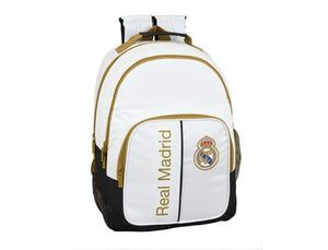 MOCHILA DOBLE ADAPTABLE REAL MADRID 1ª EQUIP
