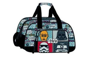 CARTERA ESCOLAR SAFTA STAR WARS BOLSA DEPORTE 400X240X230 MM