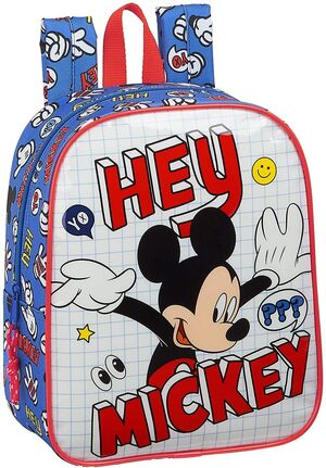 MOCHILA GUARDERIA ADAPTABLE CARRO MICKEY MOUSE THINGS