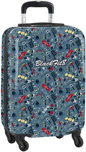 TROLLEY CABINA 20 BLACKFIT8 ALIENSKATE