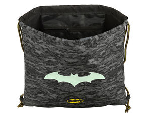 CARTERA ESCOLAR SAFTA BATMAN NIGHT SACO PLANO 350X400 MM