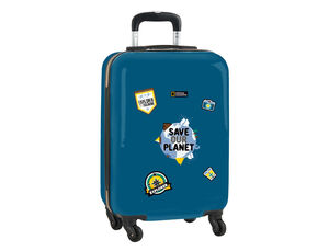 CARTERA ESCOLAR SAFTA NATIONAL GEOGRAPHIC EXPLORER TROLLEY CABINA 345X200X550 MM