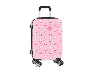 CARTERA ESCOLAR SAFTA GLOWLAB UNICORN DAY TROLLEY CABINA 345X200X550 MM