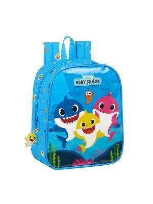 MOCHILA GUARDERIA ADAPTABLE CARRO SAFT BABY SHARK 220X100X270 MM