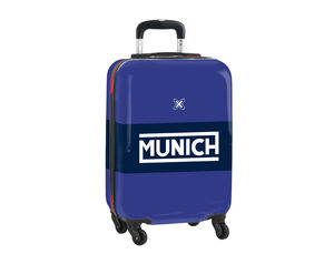 CARTERA ESCOLAR SAFTA MUNICH RETRO TROLLEY CABINA 345X200X550 MM