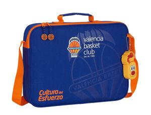 CARTERA ESCOLAR SAFTA VALENCIA BASKET CLUB EXTRAESCOLARES 380X60X280 MM