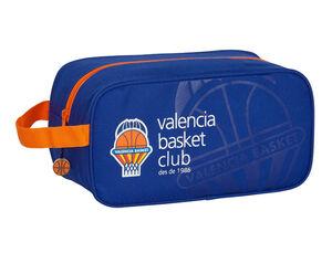 CARTERA ESCOLAR SAFTA VALENCIA BASKET CLUB ZAPATILLERO 290X140X150 MM