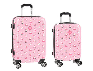 CARTERA ESCOLAR SAFTA GLOWLAB UNICORN DAY SET 2 TROLLEY CABINA 20\