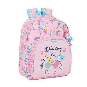 MOCHILA INFANTIL ADAPTABLE A CARRO SAFTA GLOWLAB KIDS BEST FRIENDS 280X100X340 MM