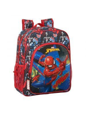 MOCHILA JUNIOR ADAPTABLE A CARRO SAFTA SPIDERMAN GO HERO 320X120X380 MM