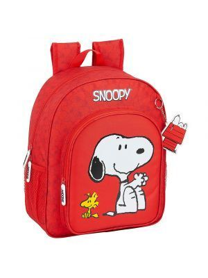 MOCHILA JUNIOR ADAPTABLE A CARRO SAFTA SNOOPY 320X120X380 MM