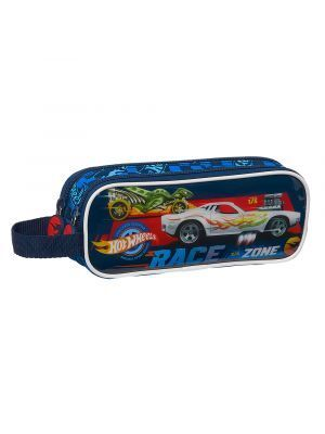 ESTUCHE DOBLE SAFTA HOT WHEELS DOBLE 210X60X80 MM